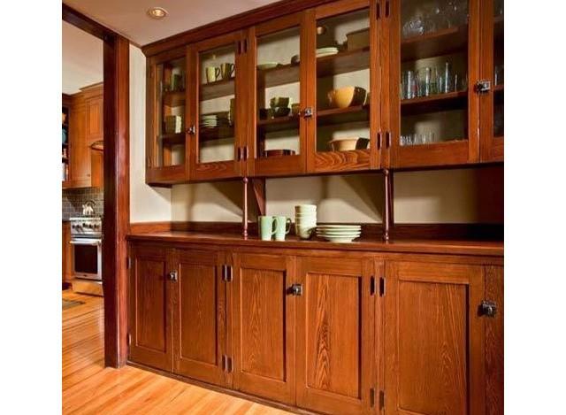 Teak Wooden Modular Kitchen by D.Kumar Lamituff Glasses Pvt. Ltd.