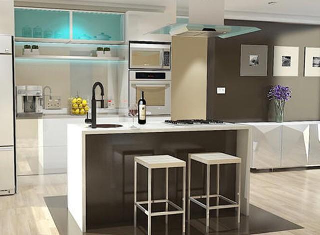 PVC Modular Kitchen by AP Interior