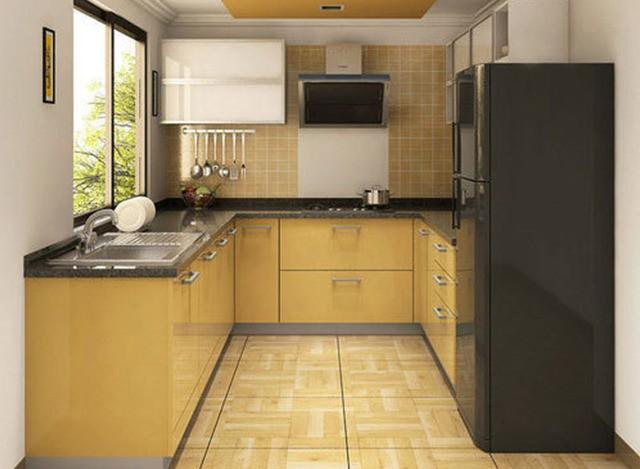 U Shaped Modular Kitchen by Get Set Modular Kitchen