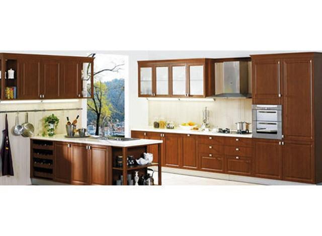 Wooden Modular Kitchen by AP Interior