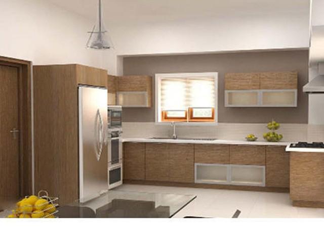 Solid Wood Modular Kitchen by Shreeji Modular Furniture