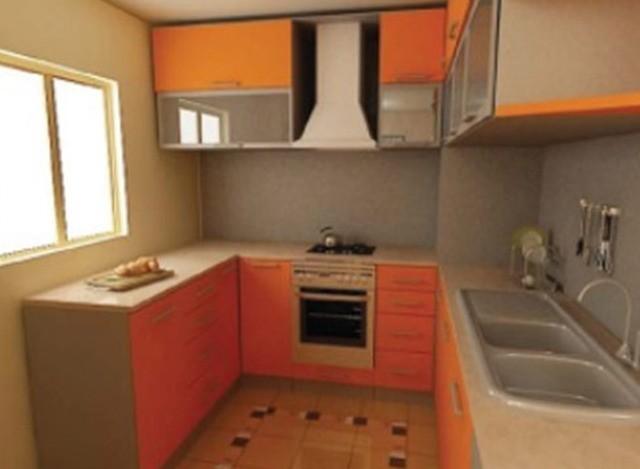 U Shaped Modular Kitchen by Gr Furnishing