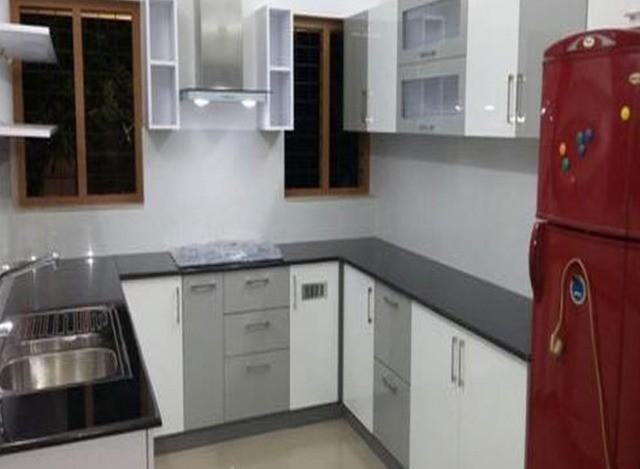 MDF U Shaped Modular Kitchen by Jap Enterprises