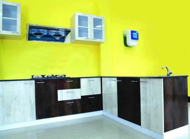 Wooden Modular Kitchen by Ghosh Engineering