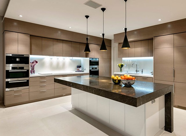 Wooden Modular Kitchen by Niki Imports