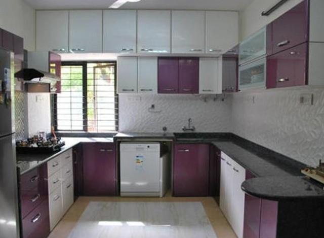 U Shape Modular Kitchen by Kraft Hardware & Decor