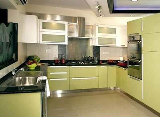 U Shaped Modular Kitchen by Monsoon Modular System