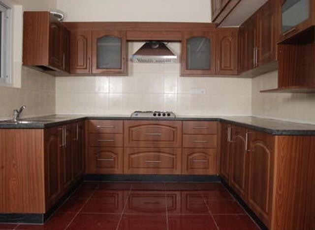 MDF U Shaped Modular Kitchen by AP Interior