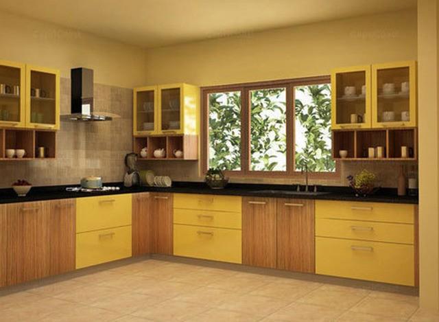 L Shape Modular Kitchen by Jap Enterprises