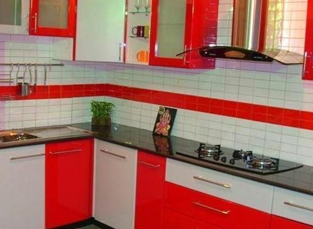 L Shaped Modular Kitchen by Jap Enterprises