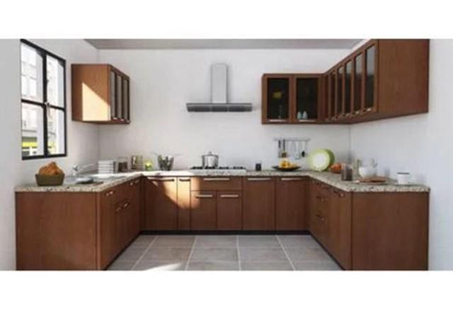 U Shape Modular Kitchen by Vishram Bhimji and Sons