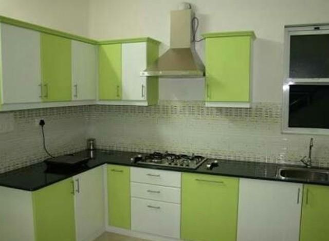 Designer PVC Modular Kitchen by Iyyan Decors