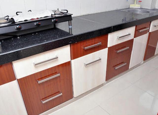 PVC Modular Kitchen by Shreeji Modular Furniture