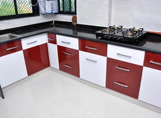 L Shap Modular Kitchen by Shreeji Modular Furniture