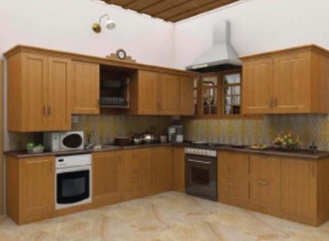 L Shap Modular Kitchen by Gr Furnishing