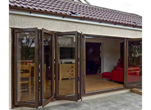 uPVC Slide & Fold Doors by Four Corner Windows