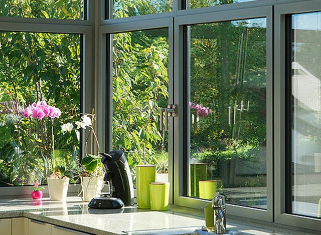 Aluminium Window In Euro Sections by Agarwal Metals