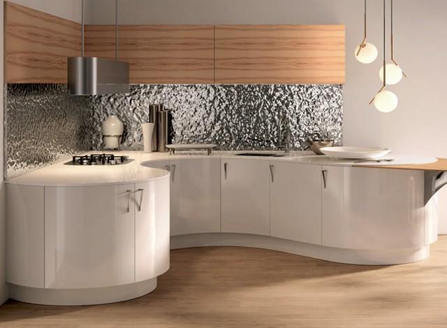 U Shape Modular Kitchen by MGM Cucine