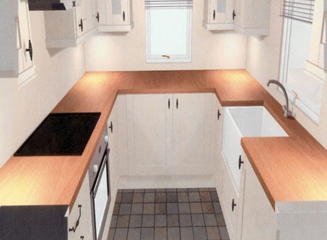U Shap Modular Kitchen by Gr Furnishing
