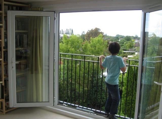 Balcony Window by Gala Aluplast Private Limited