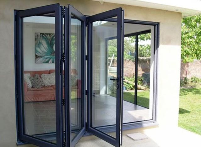 Aluminium Slide and Fold Doors by Gala Aluplast