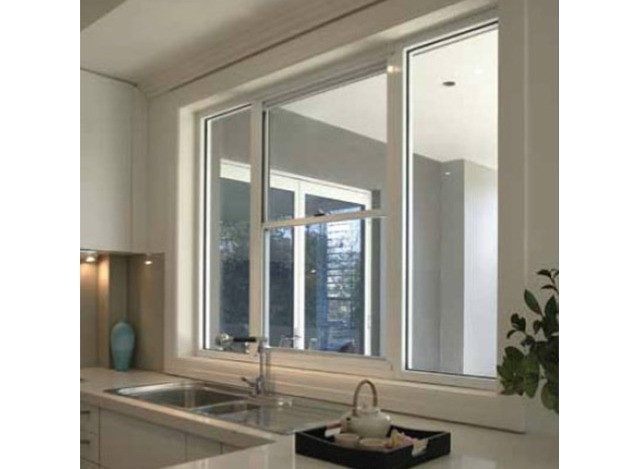 Aluminium Vertical Sliding Windows by Axsys Solutions