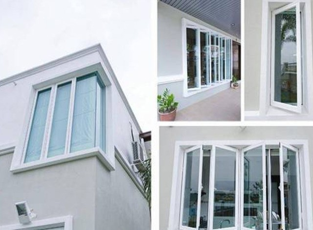 uPVC Fixed  Window by Royal Glass and Aluminium