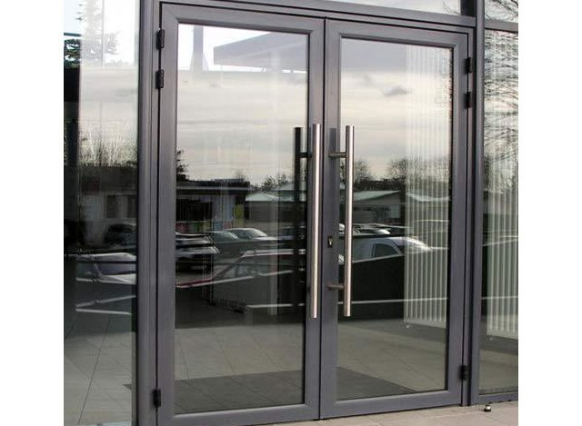 Glass Aluminium Doors by Sharma Decorator