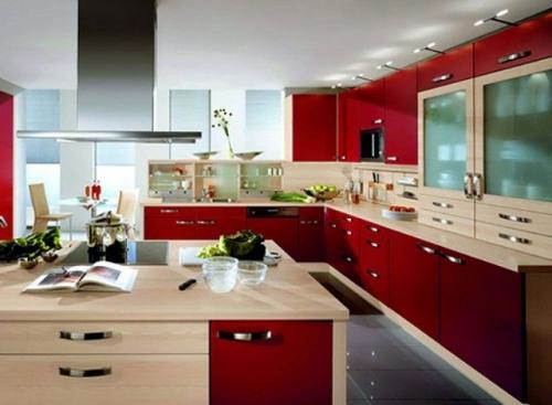 G Shaped Modular Kitchen By Rama Wood Craft Pvt Ltd