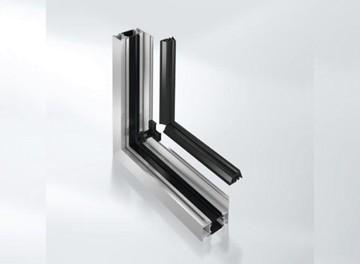 Schueco Aluminium Windows System 65 with continuous centre gasket