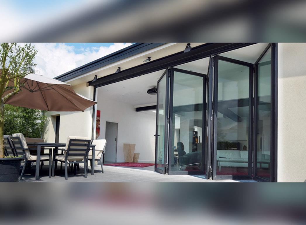 uPVC Slide & Fold Doors  by Bajaj Windows