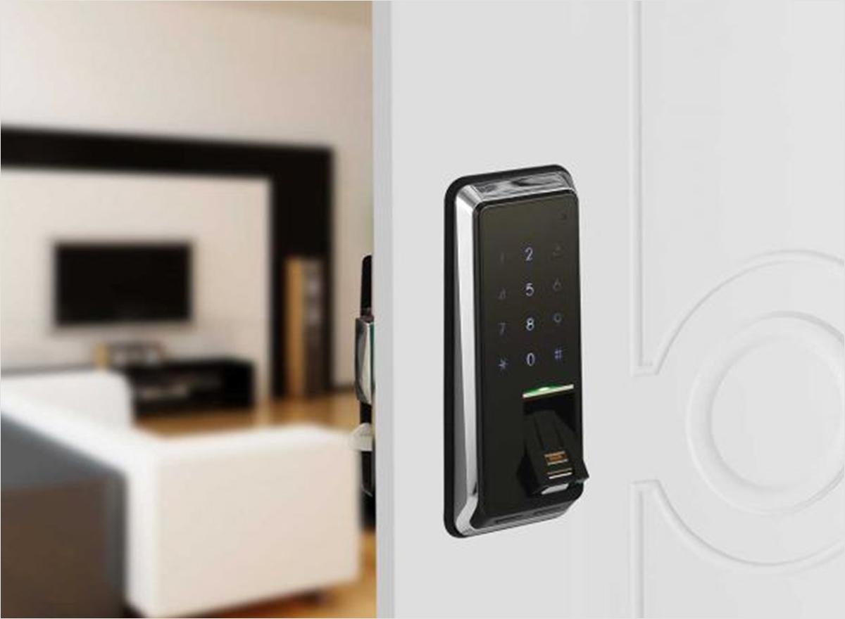 Biometric RFID Electronic Lock-OZEL1-R-RFP STD.BL by Ozone Safes