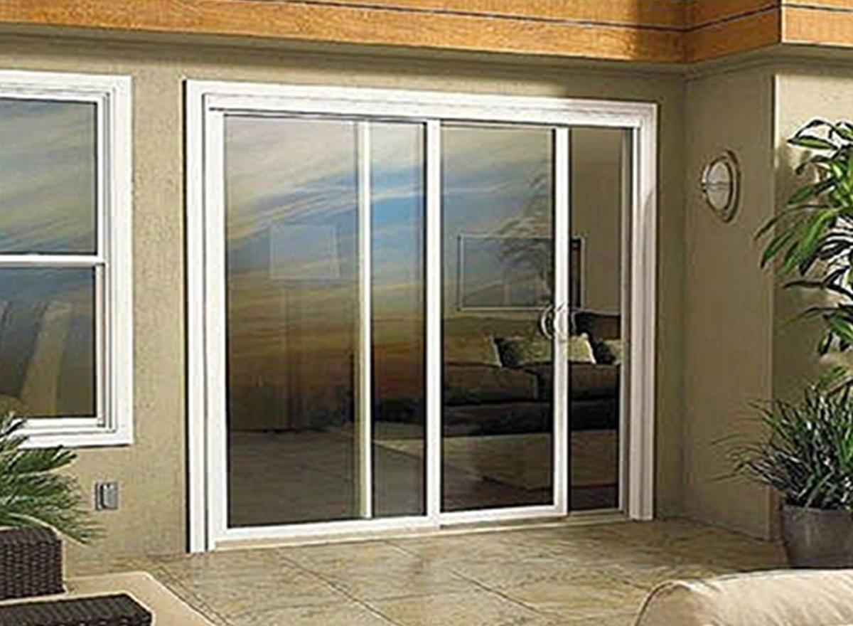 Aluminium casement doors by Welltech Systems