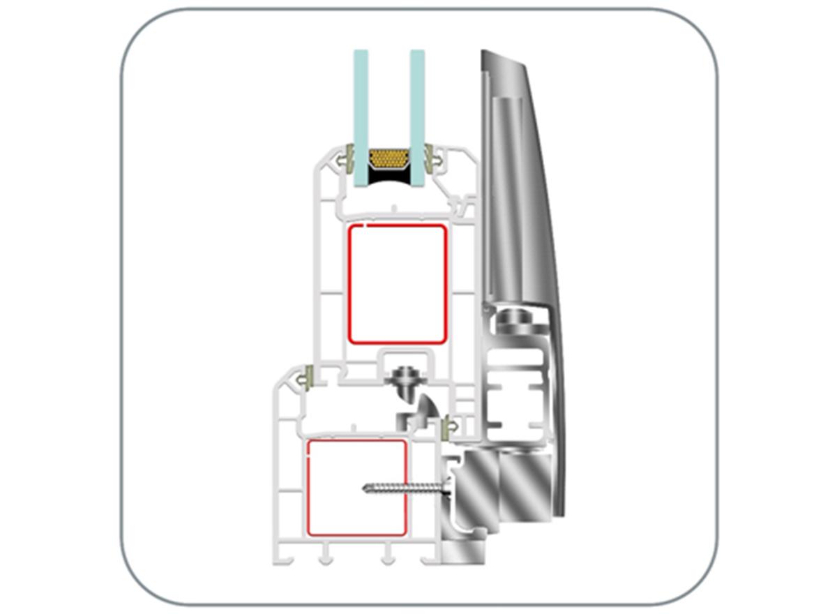 Upvc Tilt & Slide Door Systems (EN142 Tilt & Slide) by ENCRAFT