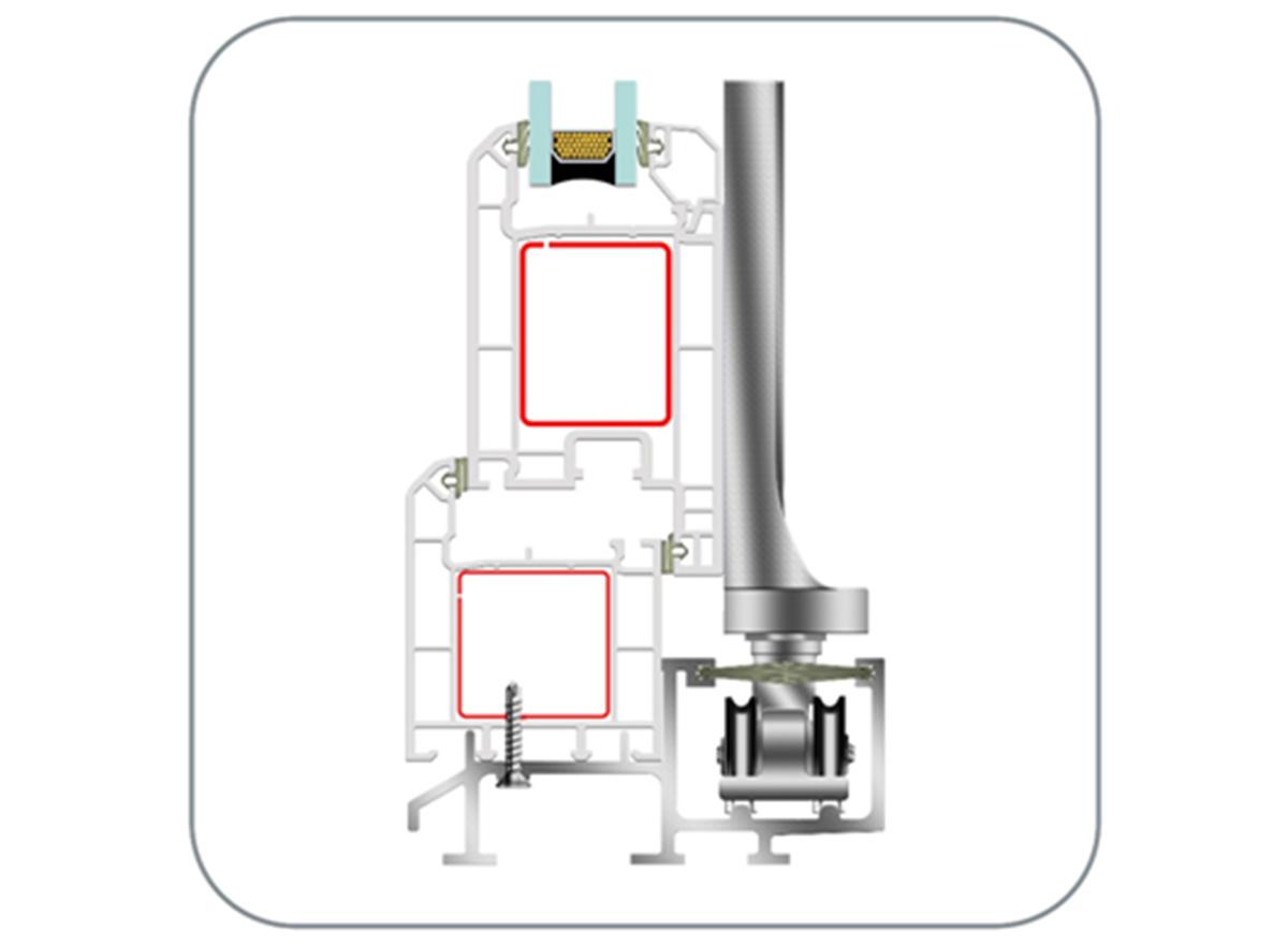 Upvc Fold & Slide Door Systems (EN62 Fold & Slide) by ENCRAFT