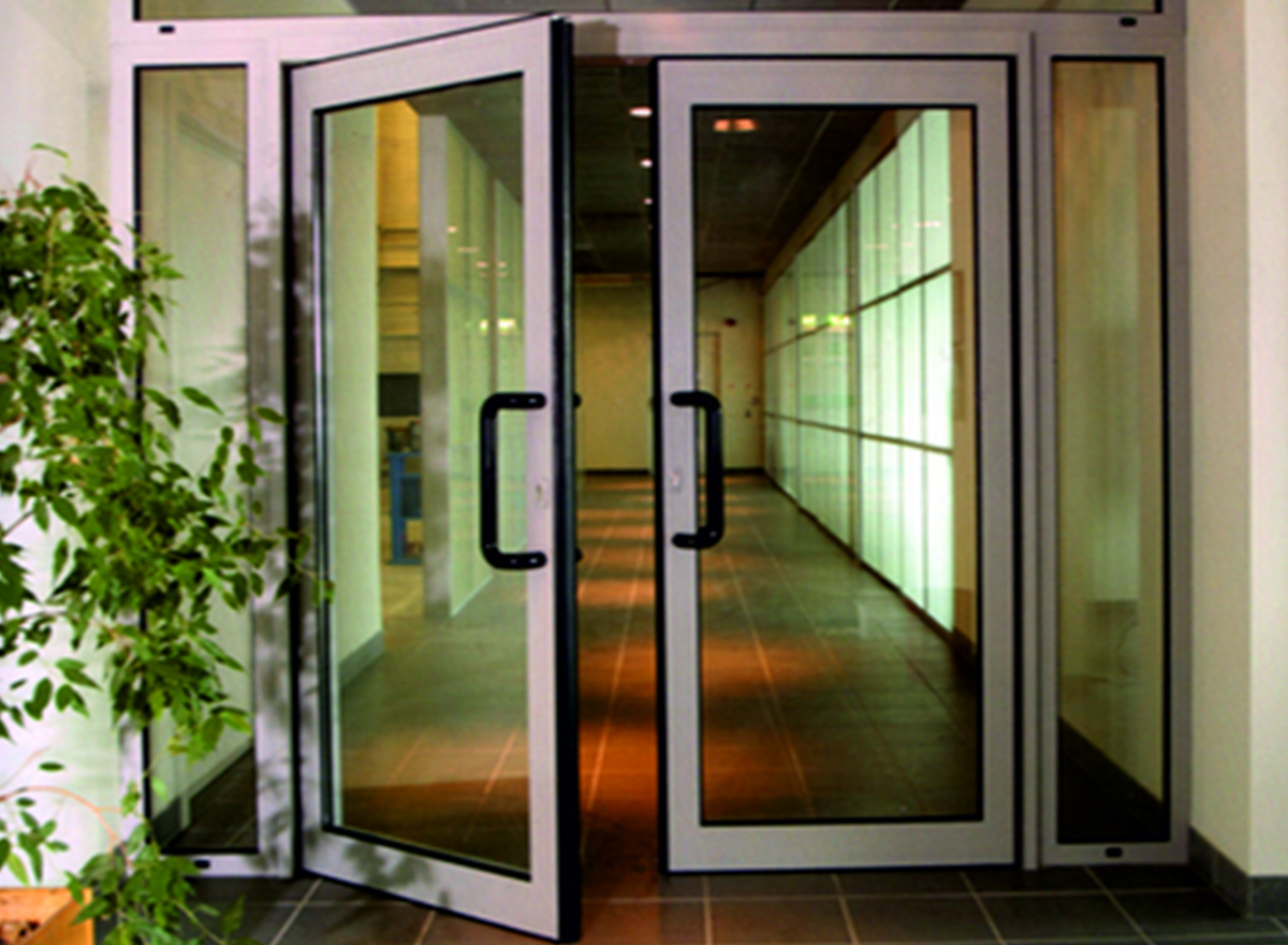 Aluminium Casement Door K-1101 (Opt. C) Series by Kalco Alu-Systems