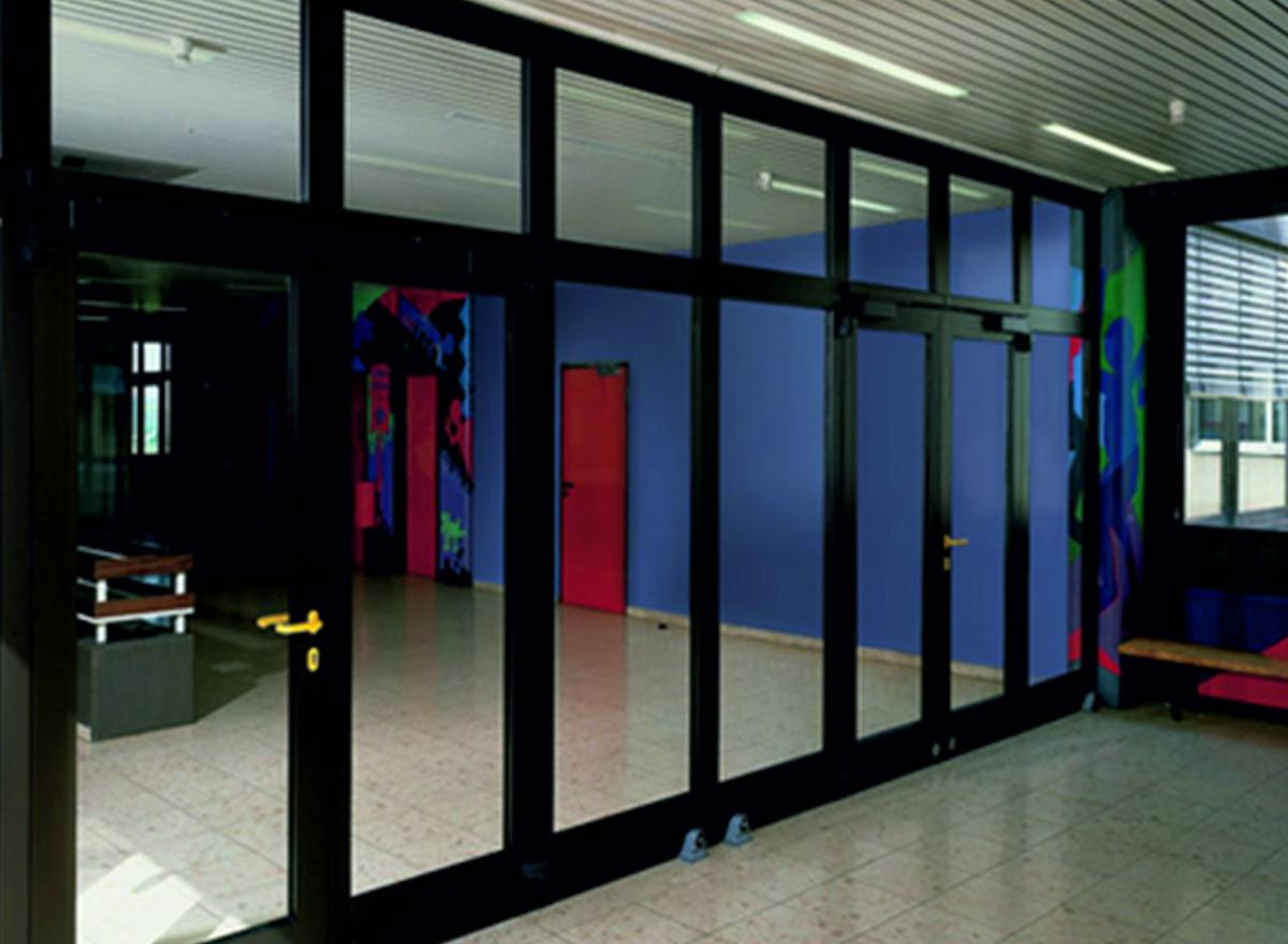 Aluminium Casement Door K-1101 (Opt. D) Series by Kalco Alu-Systems