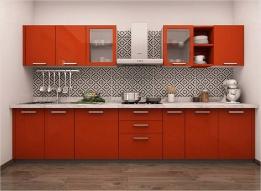 Straight Kitchen by Mosaic Kitchen