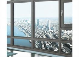 uPVC Casement Window by LG Hausys