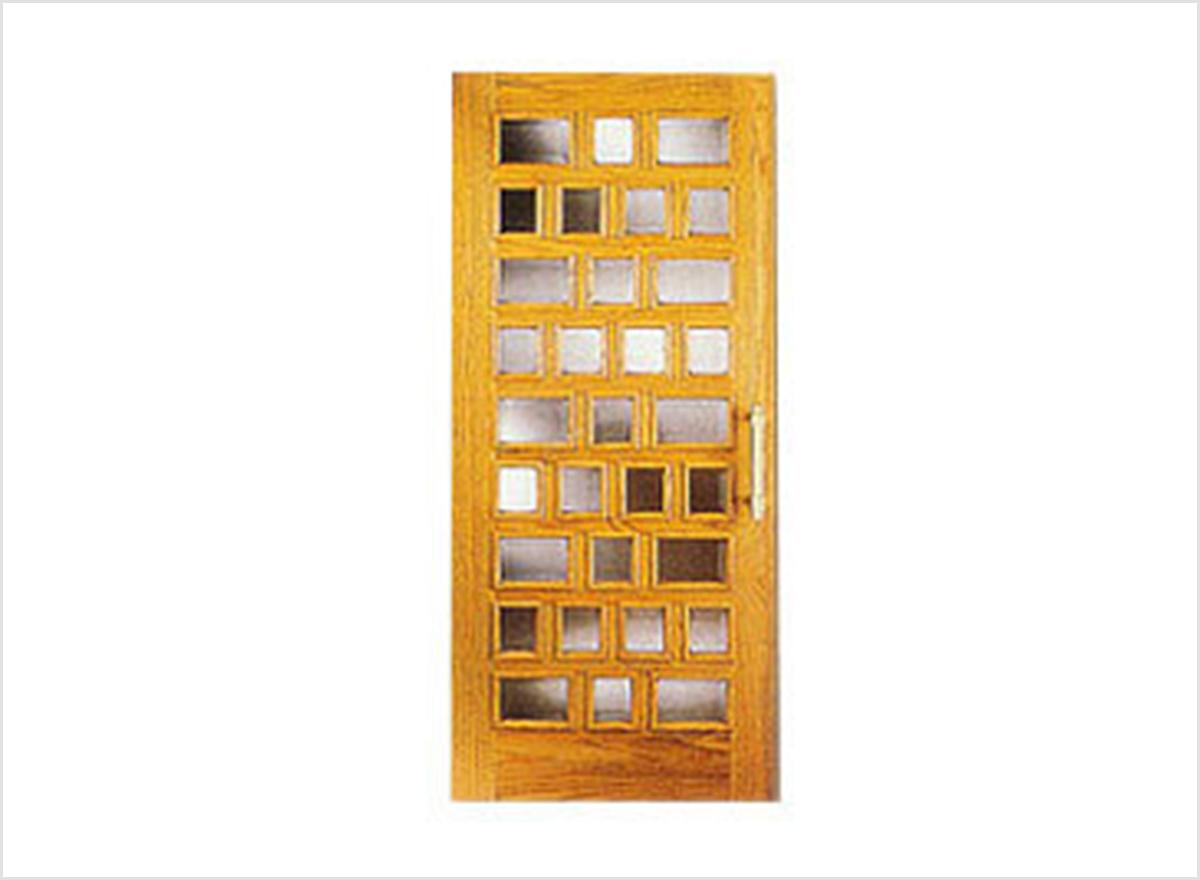 Wooden Glass Doors OP-019 By O.P. Doors