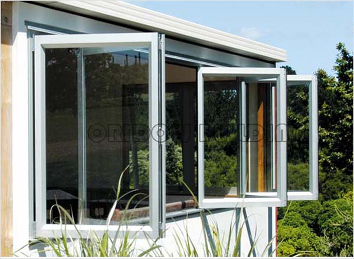 Aluminum Bi fold Windows by Oridow