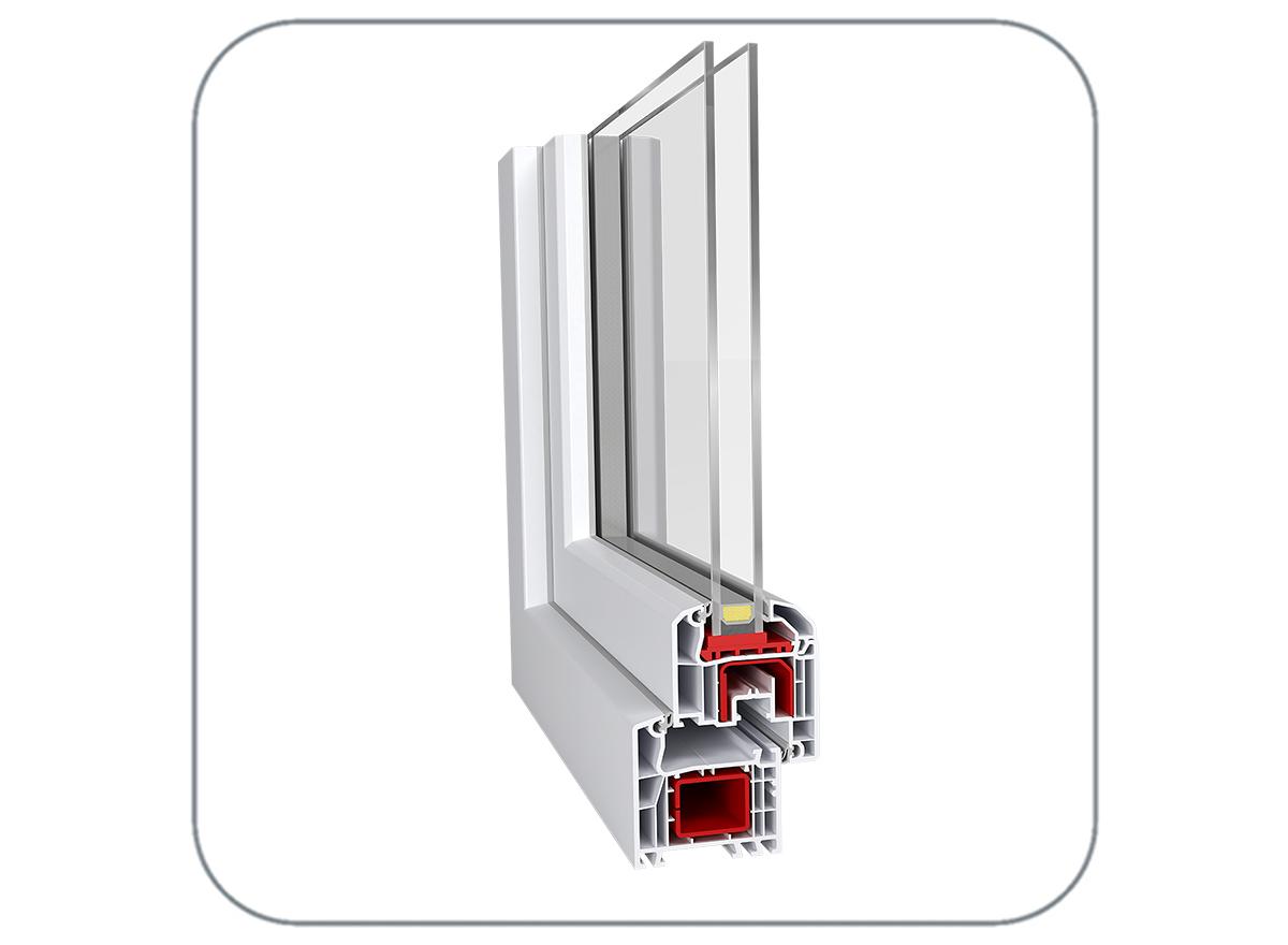 energeto® 4000 Upvc window profile by Aluplast India