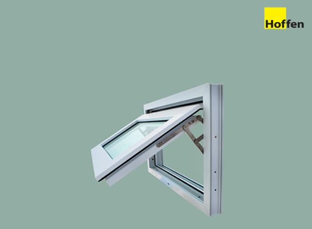 Casement Windows uPVC DIY 80*50 cm by Hoffen