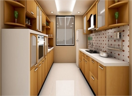Tanishq-Parallel Modular Kitchen