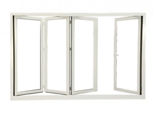 UPVC Slide & Fold Door by Kömmerling